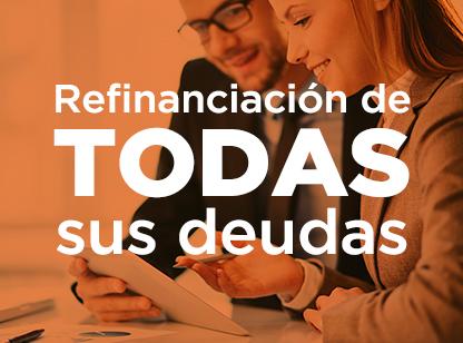 Servicios financieros refinanciación de deudas