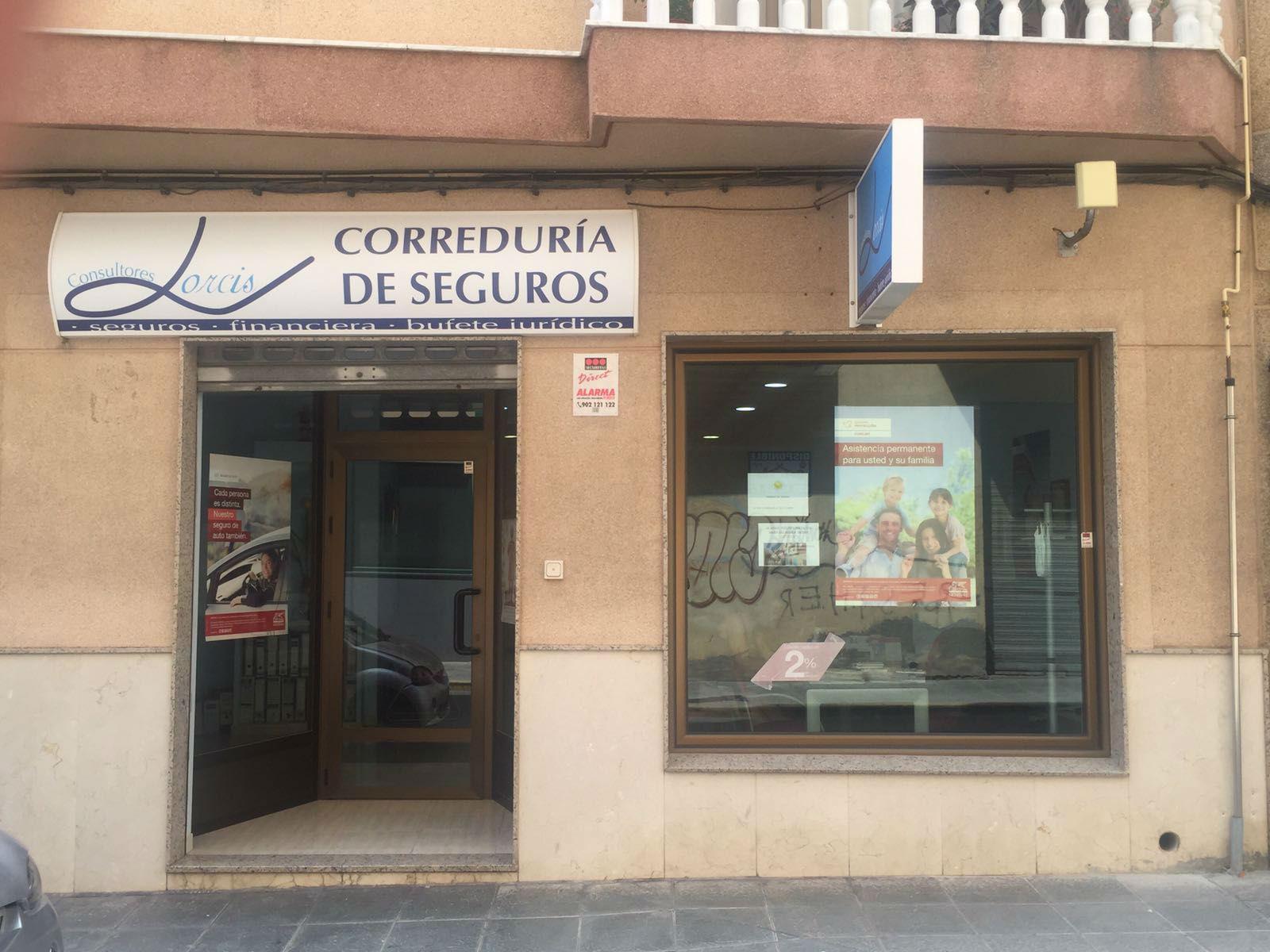 Oficina Central Lorcis Consultores en el ejido